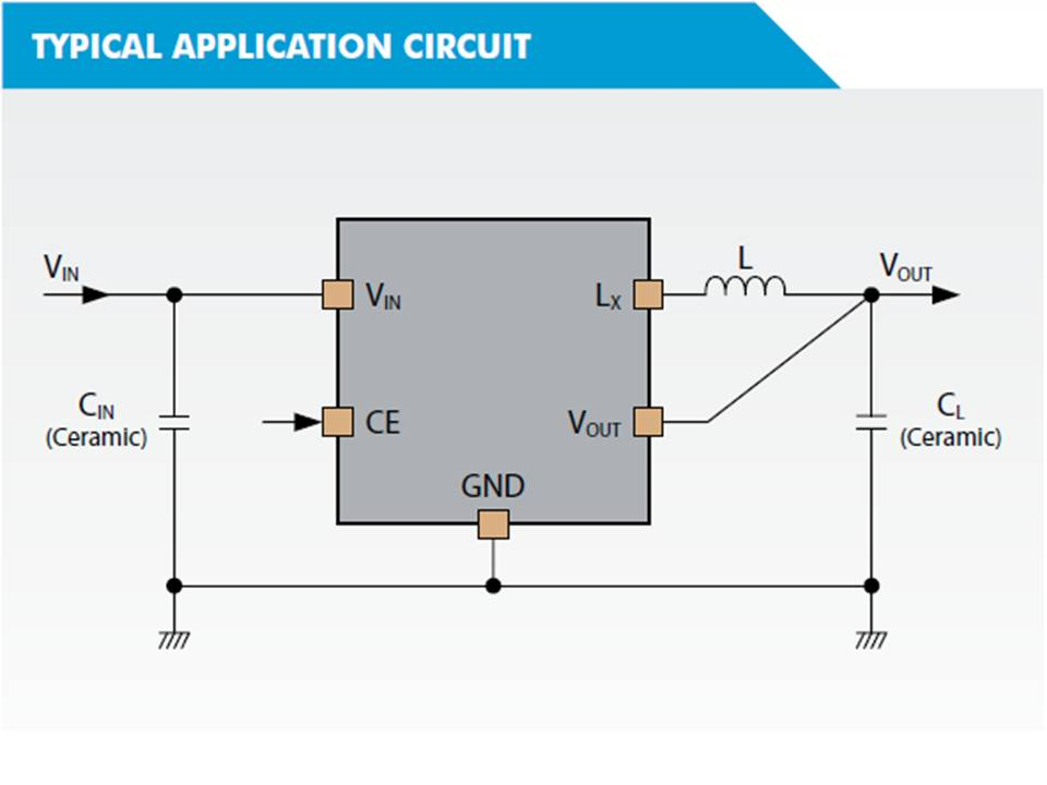 XC9265 Typical Application Circuit