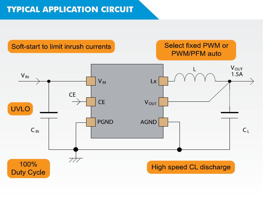 XC9260 Typical Application Circuit