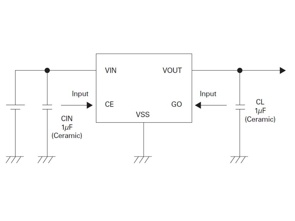 XC6217 Typical Application Circuit