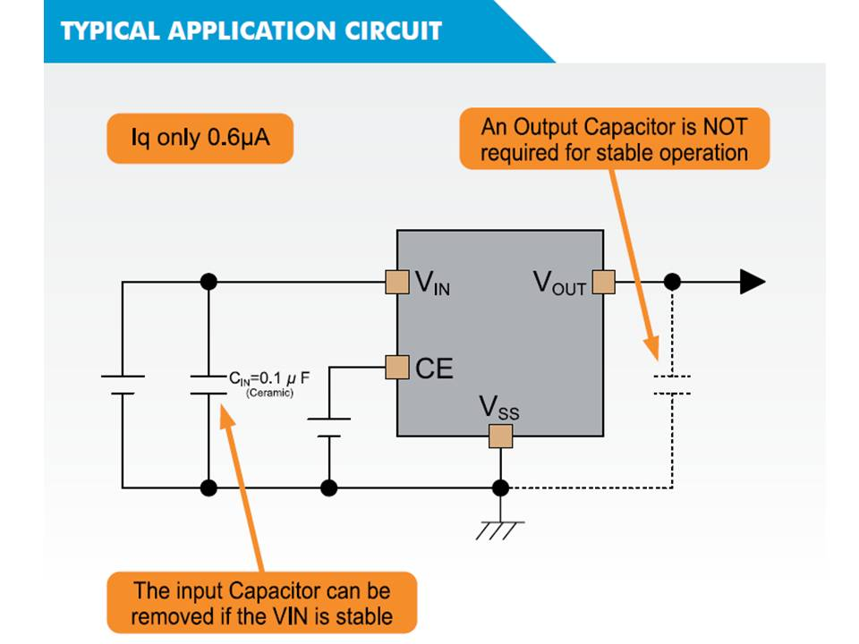 XC6504 Typical Application Circuit