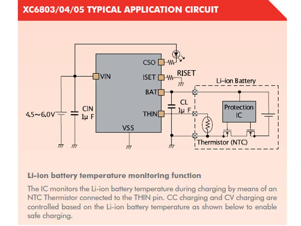 XC6805 Typical Application Circuit