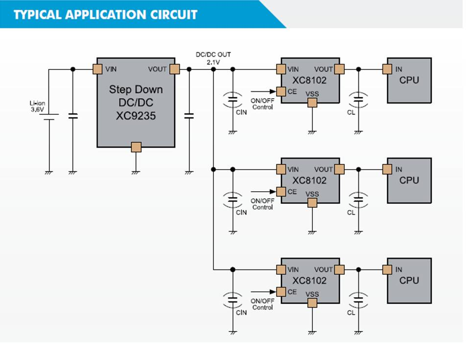 XC8102 Typical Application Circuit