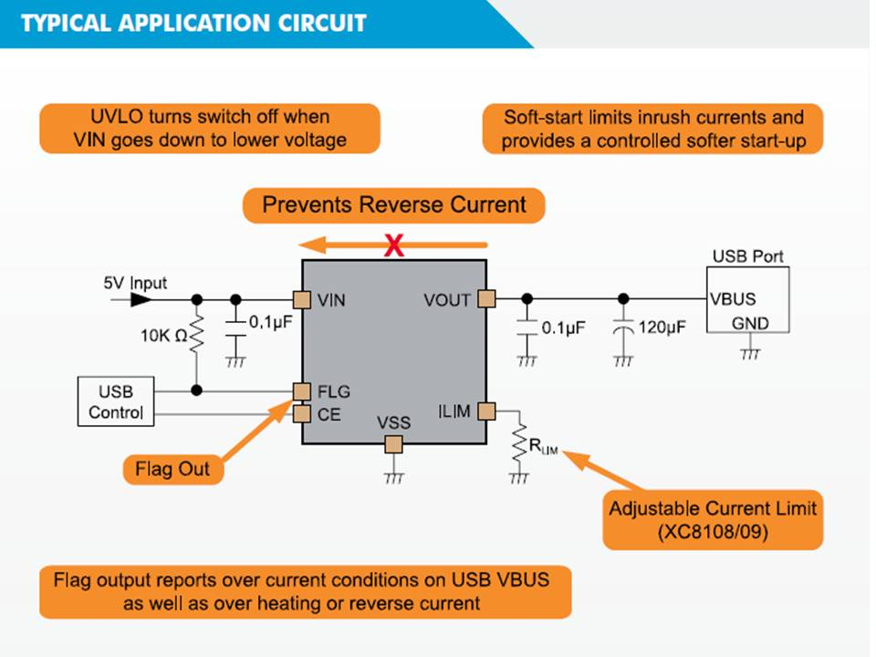XC8108 Typical Application Circuit