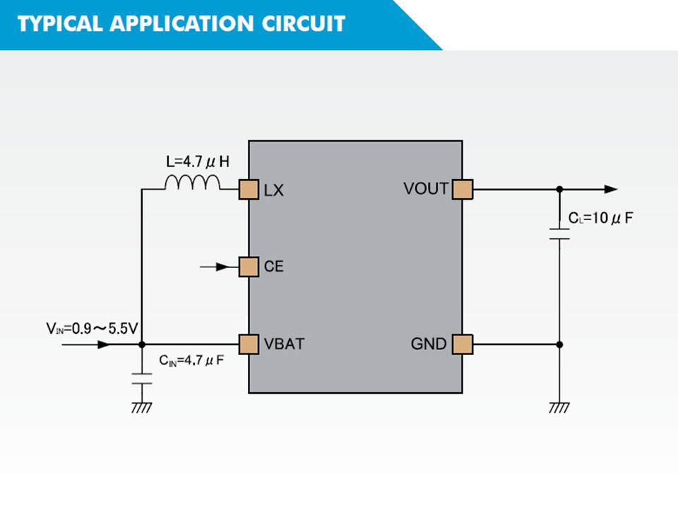 XC9140 Typical Application Circuit