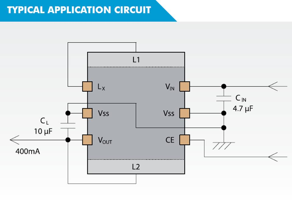 XCL202 Typical Application Circuit
