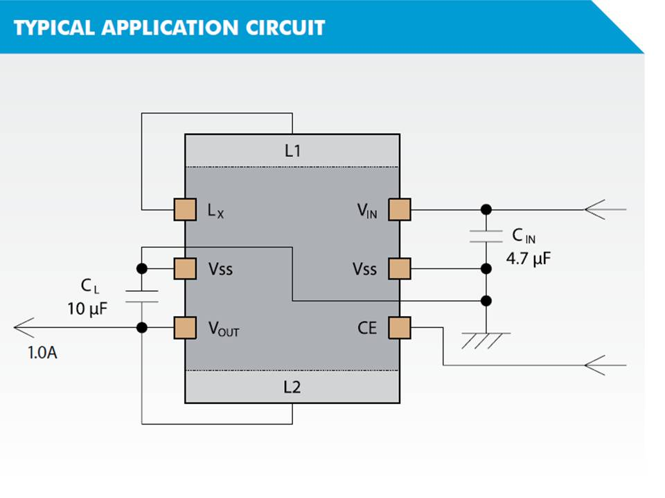 XCL220 Typical Application Circuit