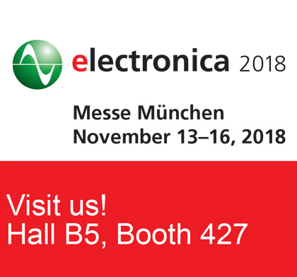 Torex to Exhibit at Electronica 2018 image