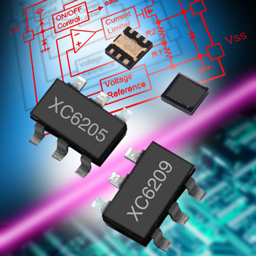 High Speed, Low Noise LDO Voltage Regulators image